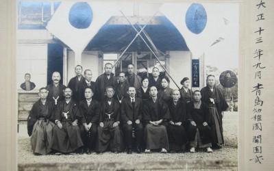 1青島幼稚園開園式・人物(古い写真)